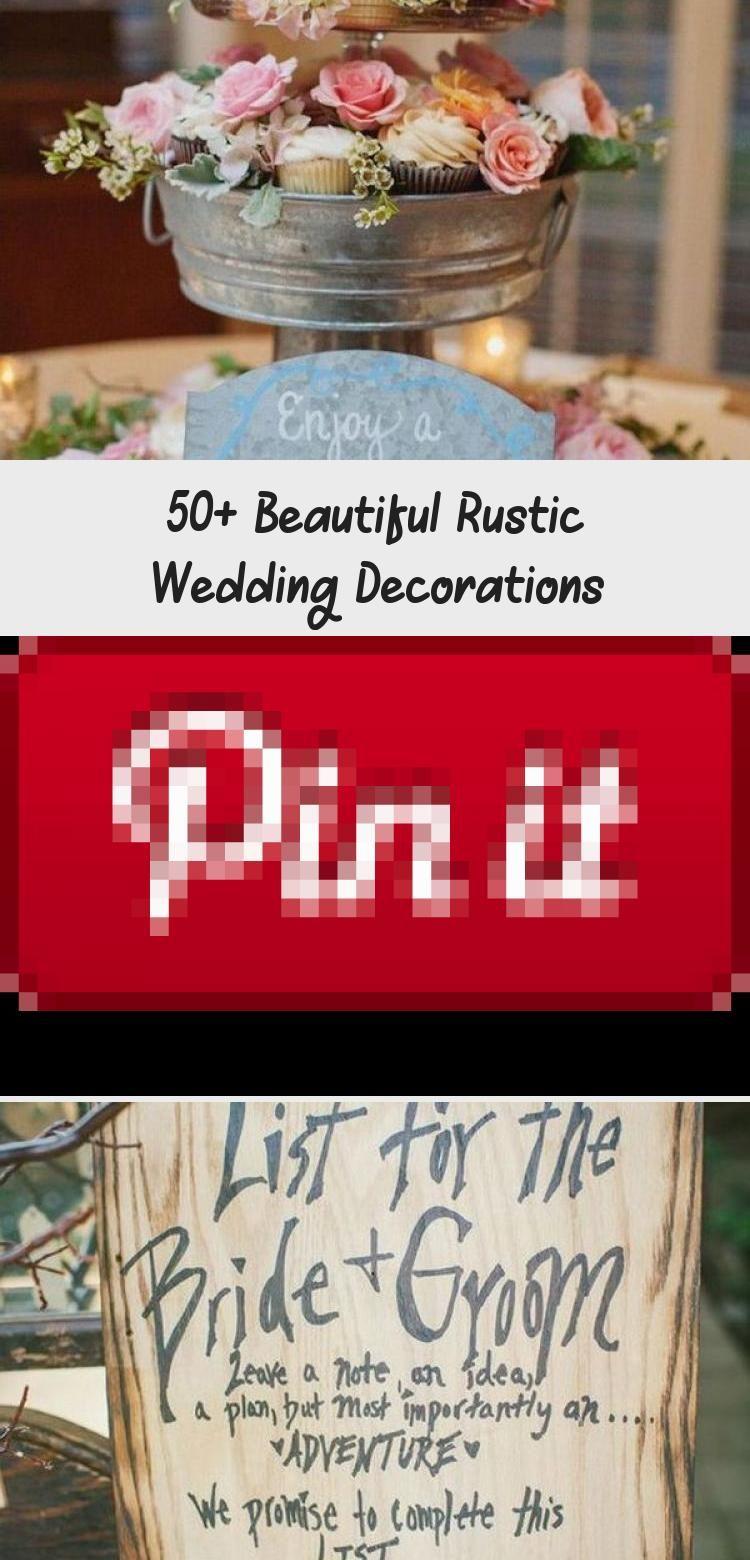 50+ Beautiful Rustic Wedding Decorations | Navy rustic ...