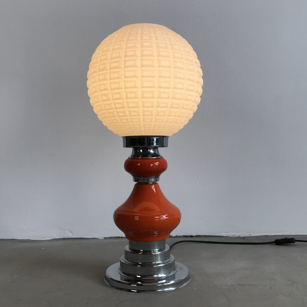 For Sale Vintage Funky Space Age Design Table Lamp 1970s Table Lamp Lamp Lamp Design