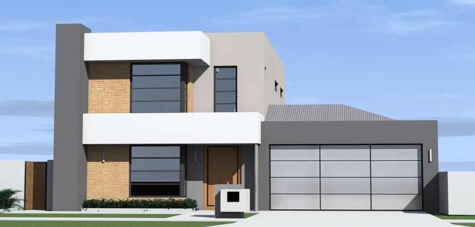 This Flat Roof 2 Storey Home Design Is Perfect For Someone