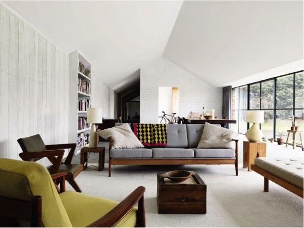Conversione di un fienile home sweet home design case for Soggiorni moderni colorati