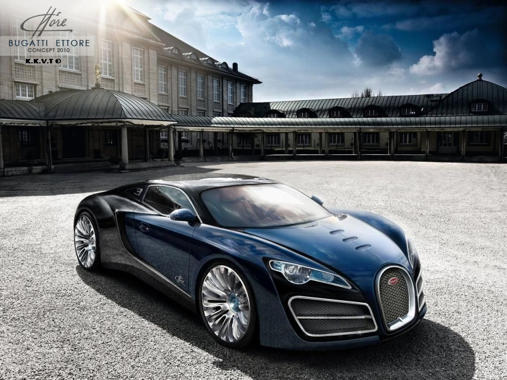 Pictures Blog: Bugatti Concept Car