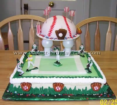 Coolest Baseball Cake Ideas Photos and HowTo Tips Birthday cakes