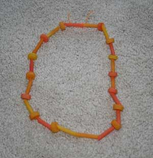 thanksgiving necklace craft all kids network thanksgiving crafts