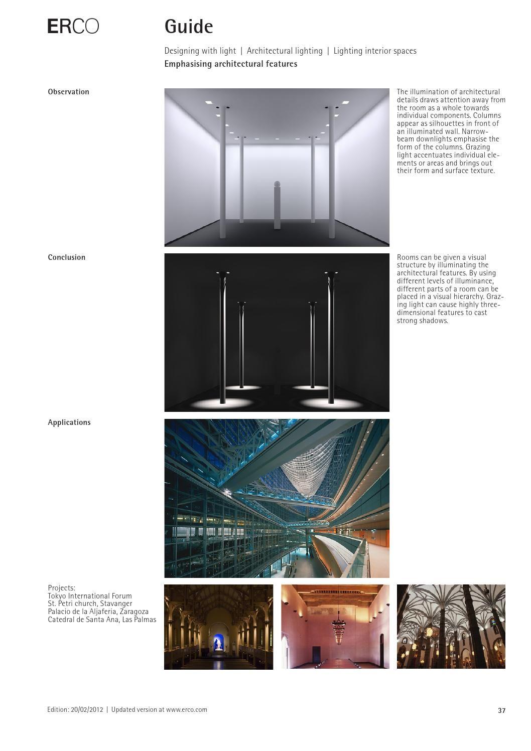 Erco Guide In 2020 Outdoor Lighting Lighting Design Building Design
