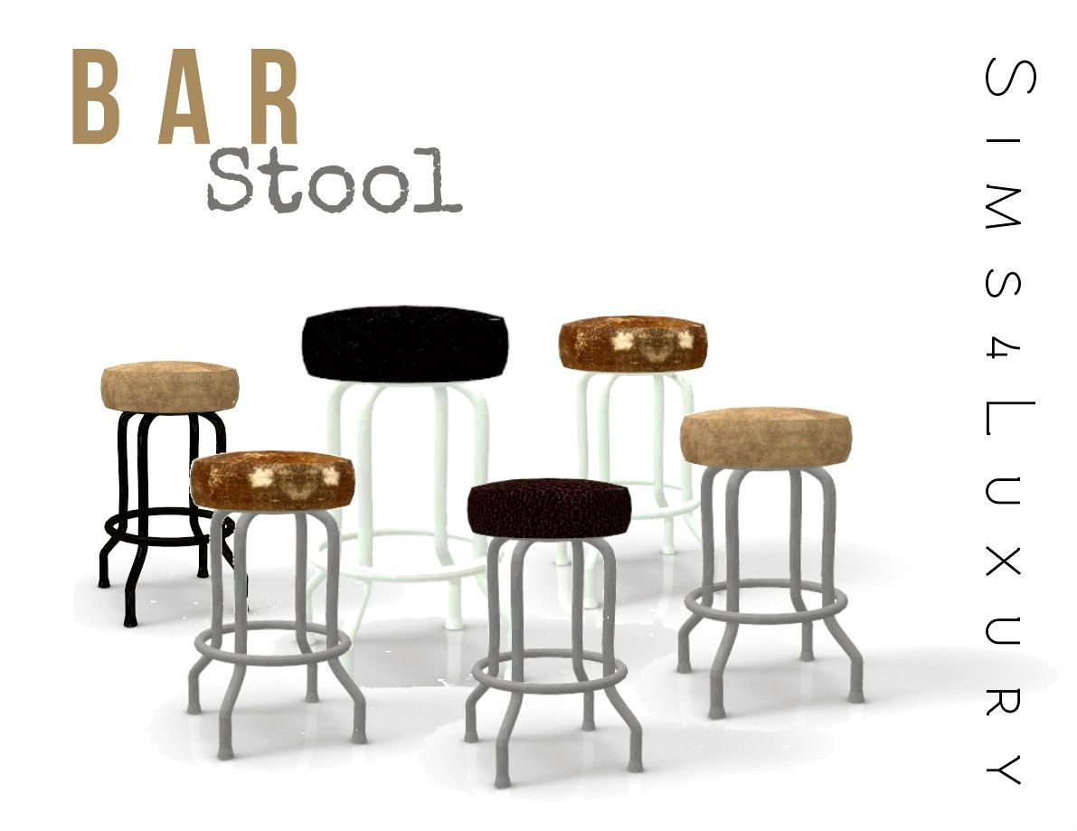 Swell Bar Stool Sims4Luxury Sims 4 Chairs Sims 4 Sims 4 Cc Gamerscity Chair Design For Home Gamerscityorg