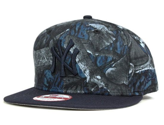 White Night Tree Camo New York Yankees 9fifty Snapback Cap By New Era X Mlb Snapback Cap Hats For Men Cap