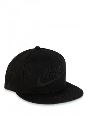 outlet store 6fe32 d6b16 Buy NIKE Cr Nike True Flat Bill Snapbk Cap For Men - Men s BLACK .