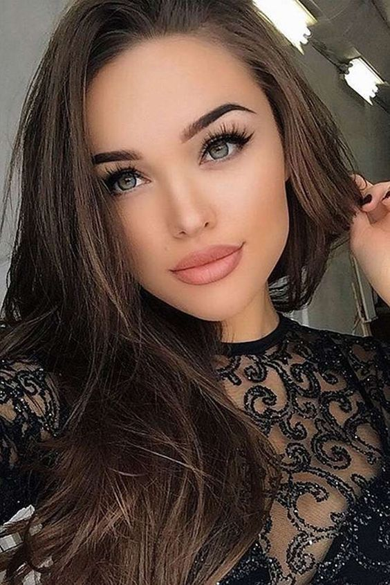 Natural Makeup for Girls with Brown Eyes Natural makeup