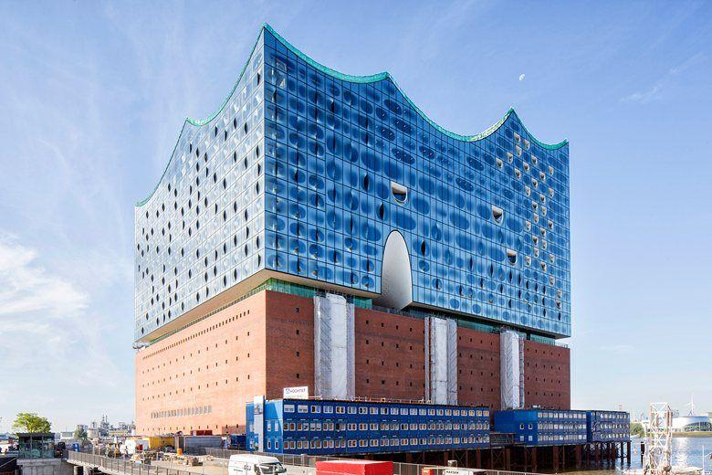 Elbphilharmonie Hamburg 2015 Herzog Elbphilharmonie Concert Hall Building Concert Hall