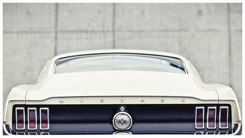 1968 Ford Mustang fastback tail shot | Classic Mustangs