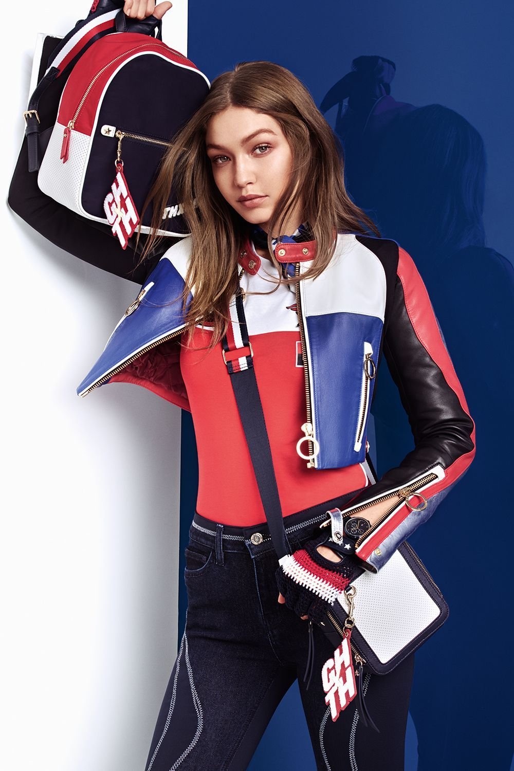cd5875fd745c59 Gigi Hadid and Tommy Hilfiger Unveil a New Racing-Inspired Collection -  HarpersBAZAAR.com