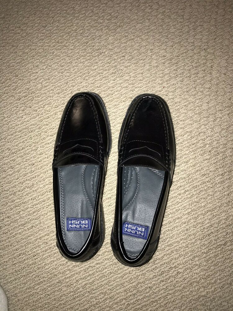 fca6200db99 Nunn Bush Mens Lincoln Black Leather Penny Loafers Size 9.5 M  fashion   clothing  shoes  accessories  mensshoes  dressshoes (ebay link)