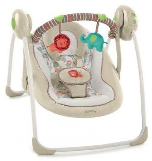 Portable Baby Swing Cradle Bouncer Rocker Jungle Boys Girls