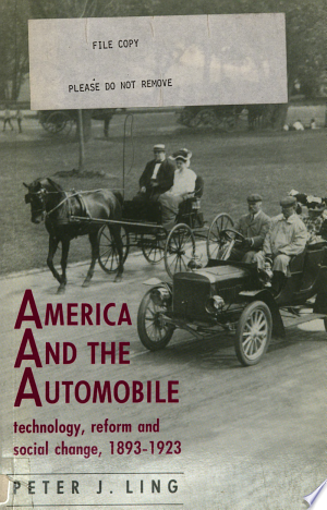 America And The Automobile Pdf Download In 2020 With Images Economics Books Automobile Engineering