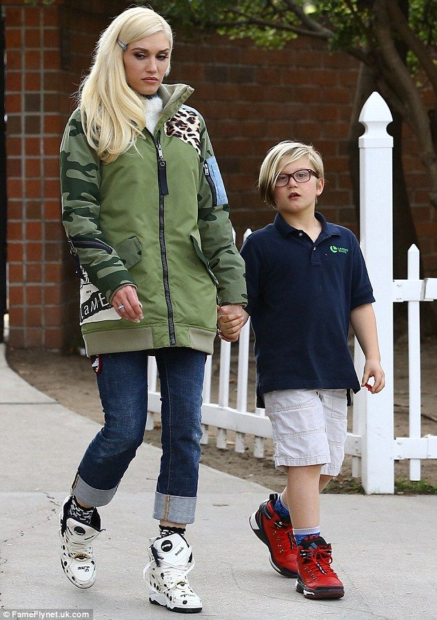 Gwen Stefani treats sons Zuma and Apollo to a day out ...