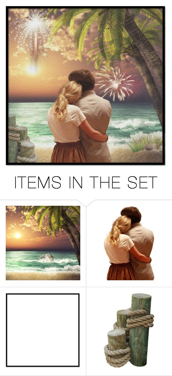 """new years at the beach contest"" by art-gives-me-life ❤ liked on Polyvore featuring art, contestentry and thebeachfantabulous"