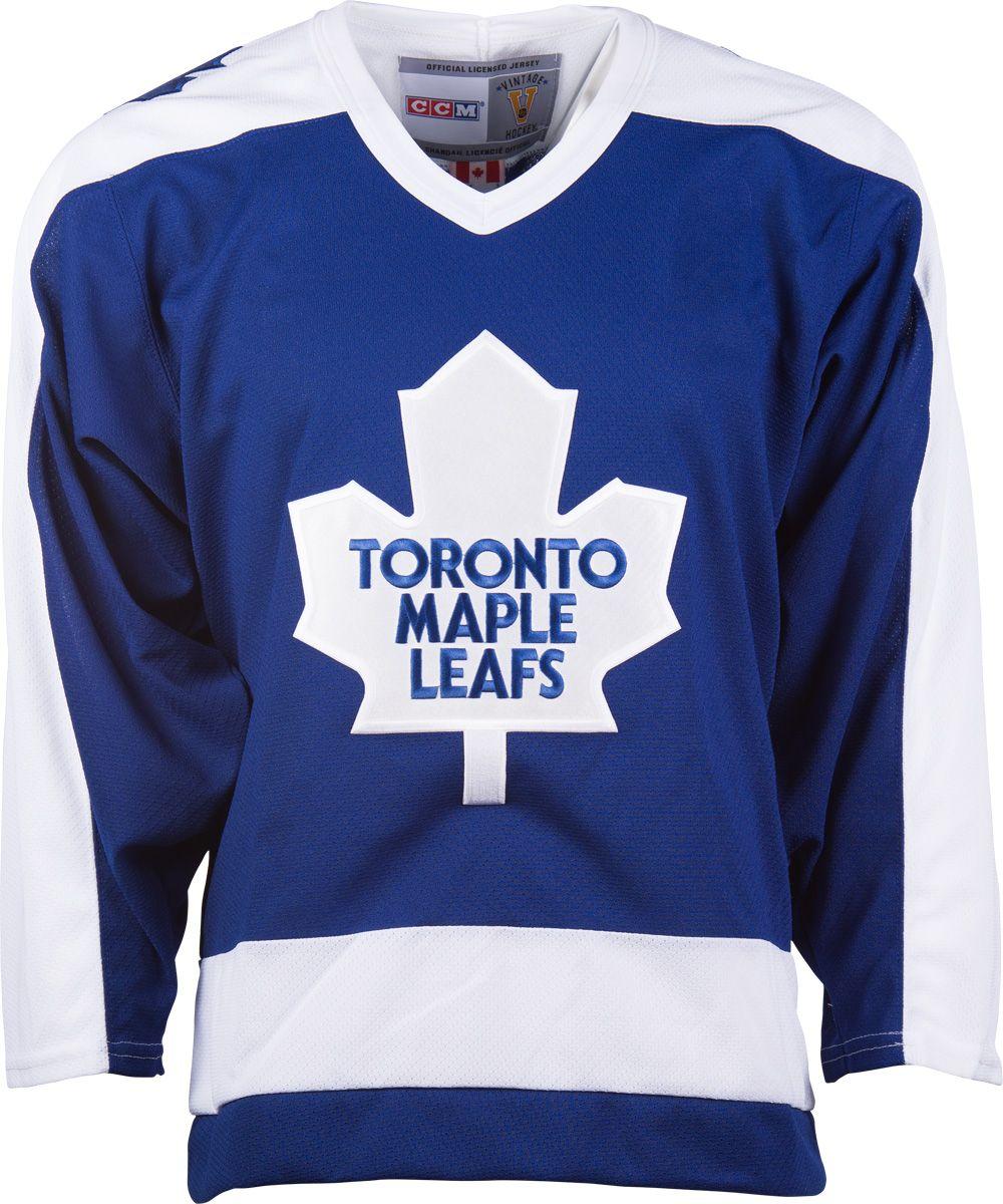 uk availability 788ac 9dd9b Toronto Maple Leafs CCM Vintage 1978 Royal Replica NHL ...