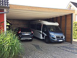 gro er carport f r wohnmobil garage carport pinterest wohnmobil g rten und h uschen. Black Bedroom Furniture Sets. Home Design Ideas