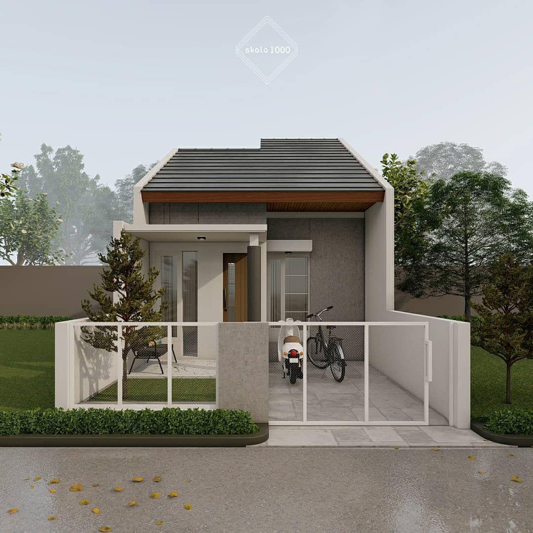 Gambar Mungkin Berisi Pohon Tanaman Langit Rumah Dan Luar Ruangan Rumah Minimalis Rumah Desain Rumah