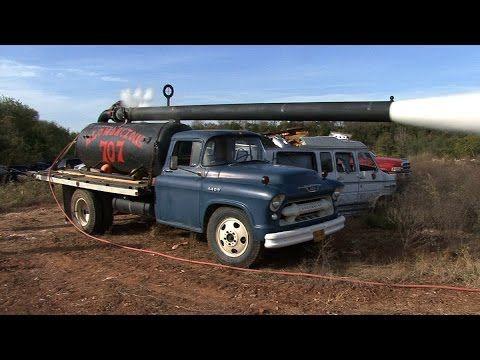 BIG NASTY Custom Air Ride INTERNATIONAL Truck - YouTube