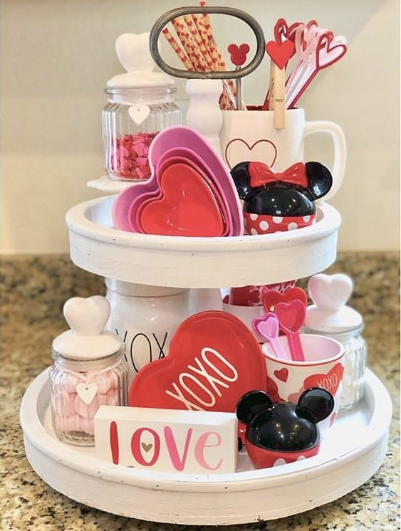 VALENTINE'S TIERED TRAYS YOUR HEART WILL SKIP A BEAT FOR