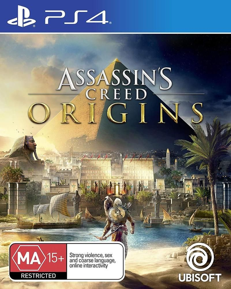 Details About Assassins Creed Origins Action Adventure Rpg Game For
