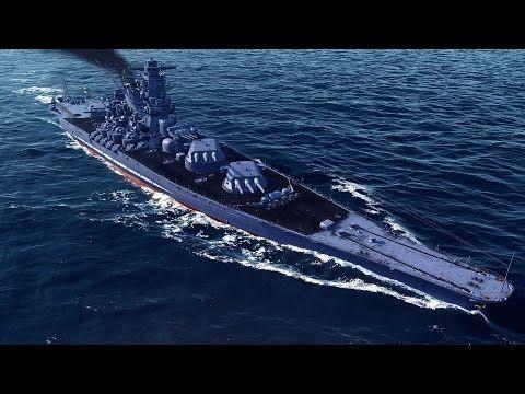 World Of Warships Yamato Skin