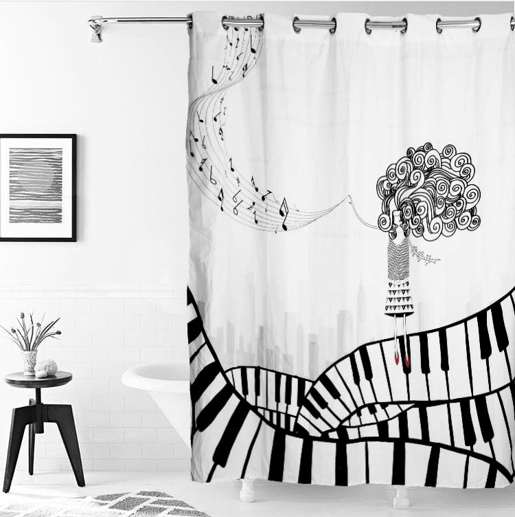 Comprar cortinas de ba o online a buen precio cortinas de - Cortinas bano originales ...