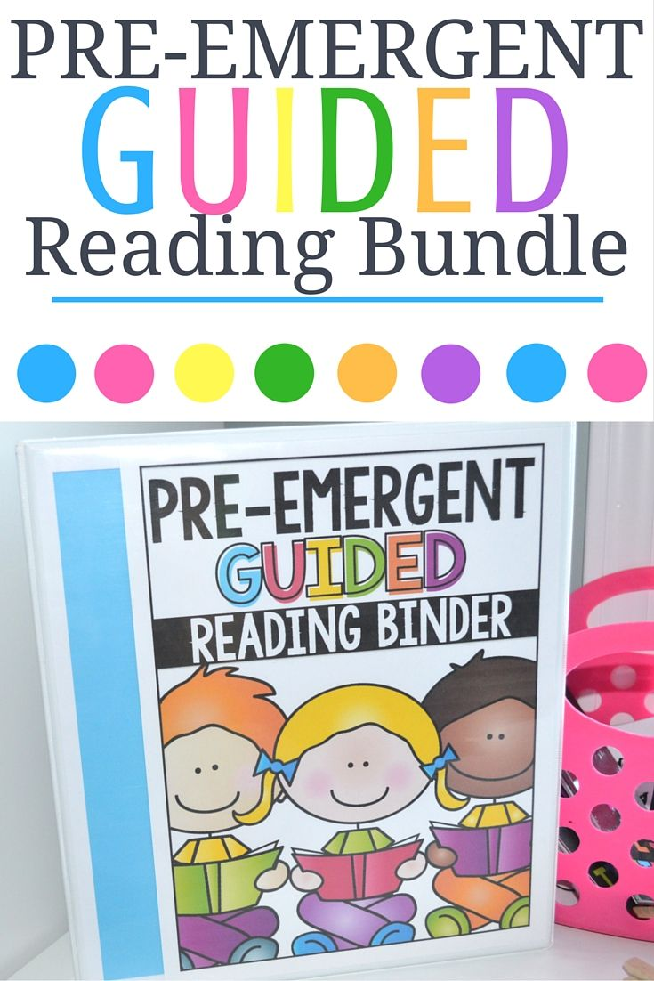 Guided Reading Pre Emergent Bundle Learning And Beyond Guided