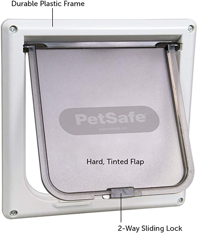 Amazon Com Petsafe Interior Cat Door 2 Way Lock For Cats Up To 15 Pounds Pet Doors Pet Supplies In 2020 Cat Door Dog Door Pet Doors