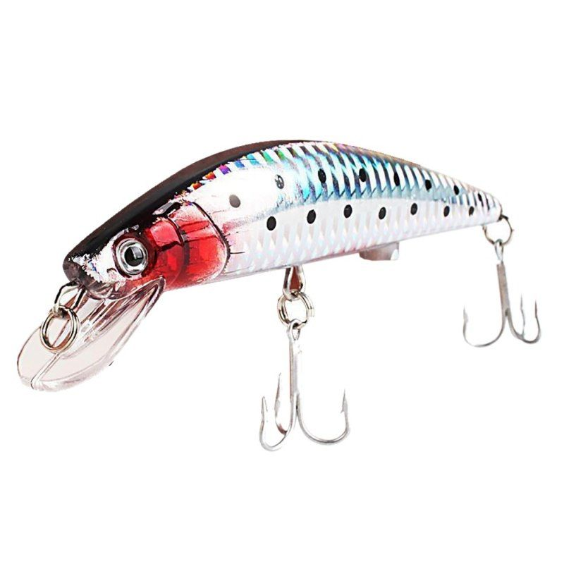 Rechargeable Led Intelligent Precious Minnow Fishing Lure With Treble Hook Twitching Lures Fishing Lures Diy Fishing Lures Lure