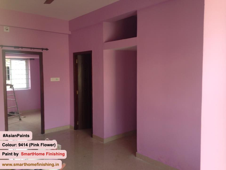 Interiorpainting At Coimbatore Tamil Nadu Product Asian Paints Colour 9414 Pinkflower Paint By Smarthome Finishing Boo Decor Smart Home Home Decor