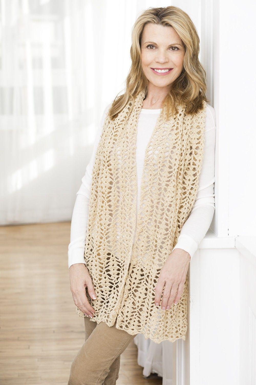 Starlight Evening Shawl (Crochet) - Patterns - Lion Brand Yarn ...
