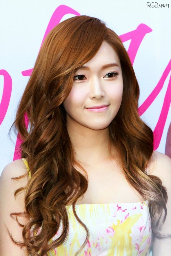 Jessica Snsd Hair Color Beautiful Hair Color Girls Generation Jessica