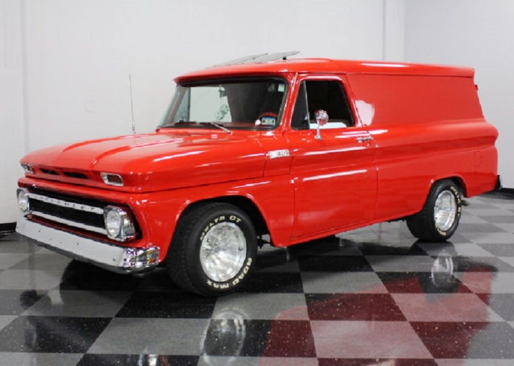 1965 Chevrolet Panelvan Chevy Trucks Panel Truck Classic Cars Chevy