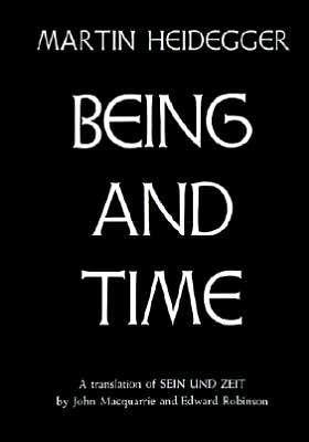 Being And Time By Martin Heidegger Philosophy Books Books Philosophy