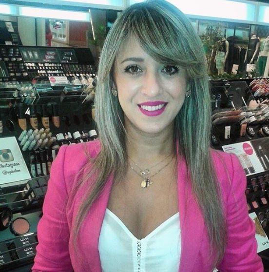 A @danielle.crodrigues passou na loja da NYX do Shopping Boulevard Belém e saiu apaixonada pelo Soft Matte Lip Cream Prague