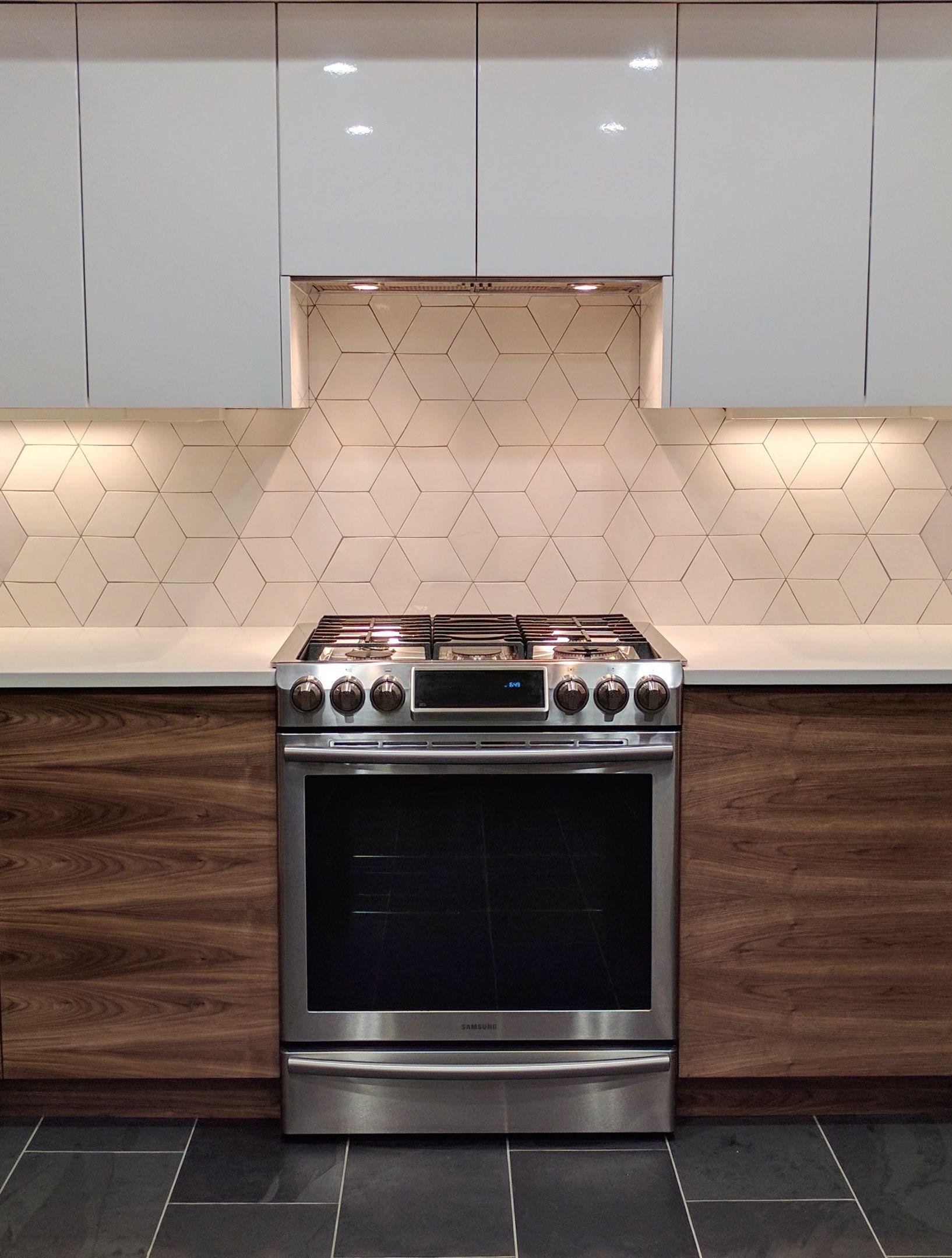 Diamond Mosaic Tiles Diamond Tile Backsplash Mercury Mosaics Trendy Kitchen Tile Kitchen Tiles Backsplash Kitchen Design