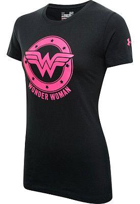 później San Francisco na sprzedaż online UNDER ARMOUR Women's Alter Ego Wonder Woman T | I want that ...
