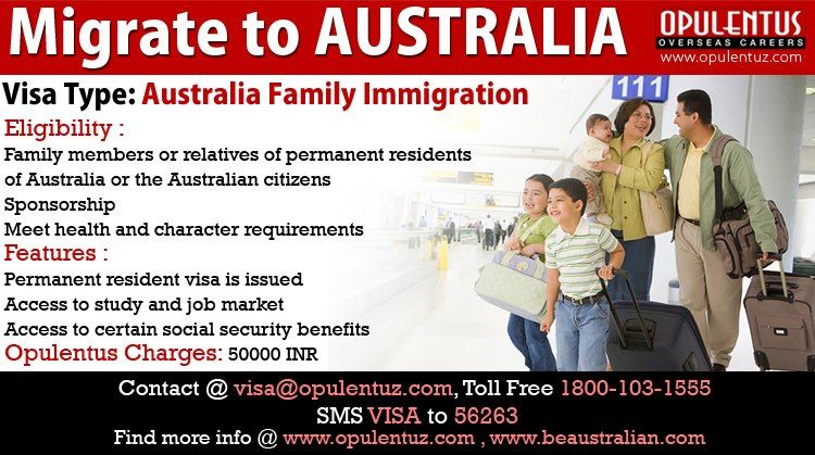 The family members of permanent residents of Australia or