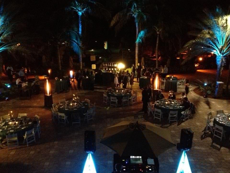 Tiki Terrace Marco Island Marriott Florida Wedding