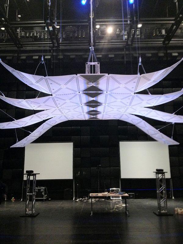 Manta - Acoustic Installation by Studio Bernal » Yanko Design