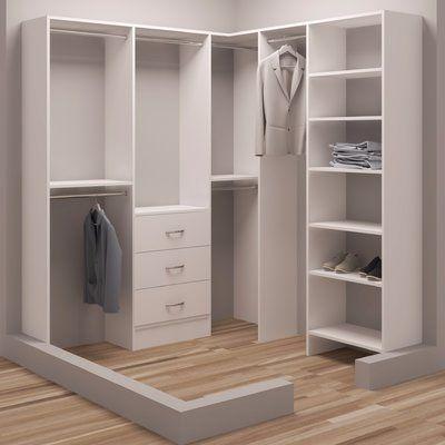 Tidysquares Inc Demure Design 75 W 72 25 W Closet System