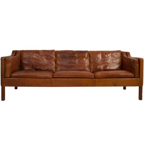 Kathleenetrujillo Leather Sofa By Borge Mogensen Flea