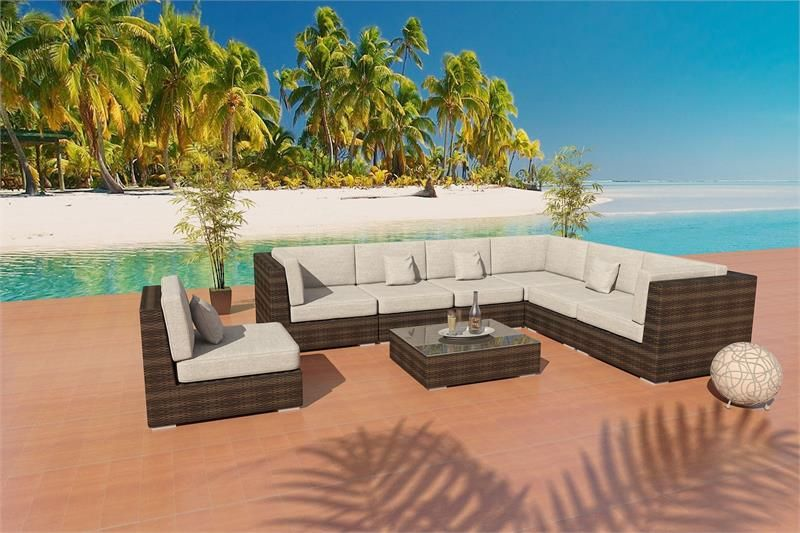 Contemporary Bellagio Outdoor Wicker Patio Furniture. This Outdoor Furniture  Set Is Made Of Viro Outdoor