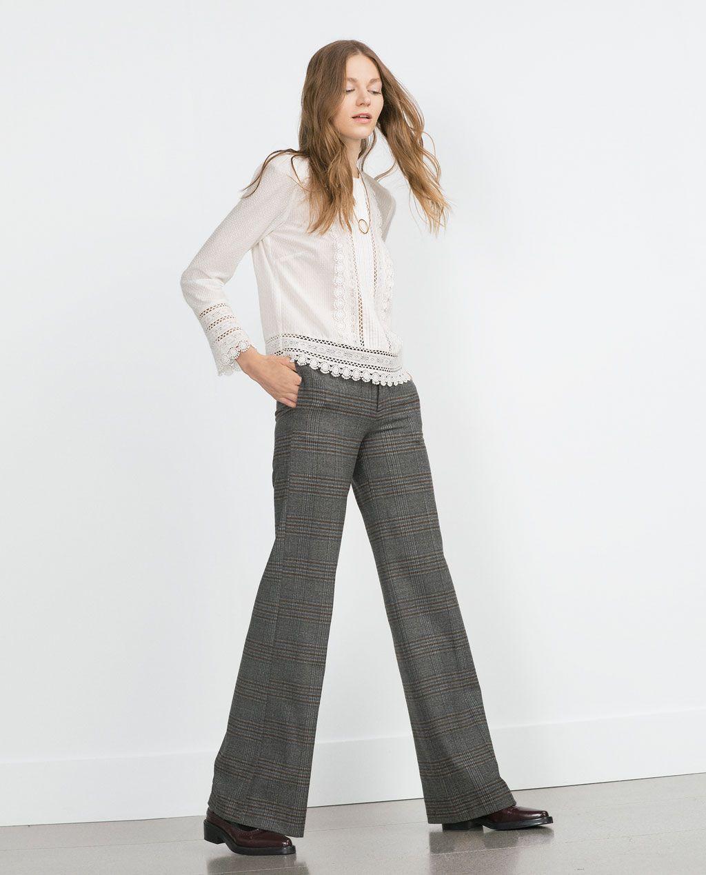 precio asombroso variedad de diseños y colores moda de lujo STRAIGHT CHECKED TROUSERS-THE FALL REPORT | WOMAN-EDITORIALS ...