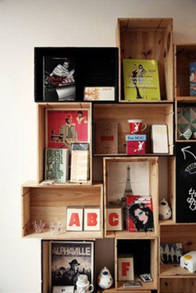 23+ Como poner cajas de madera en la pared inspirations