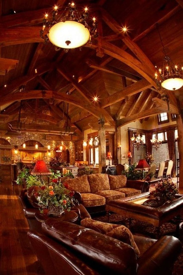 Cool Sunken Living Room Ideas For Your Dreamed House: Example Of Rustic Living Room Ideas To Fashion Your Revamp Around 8