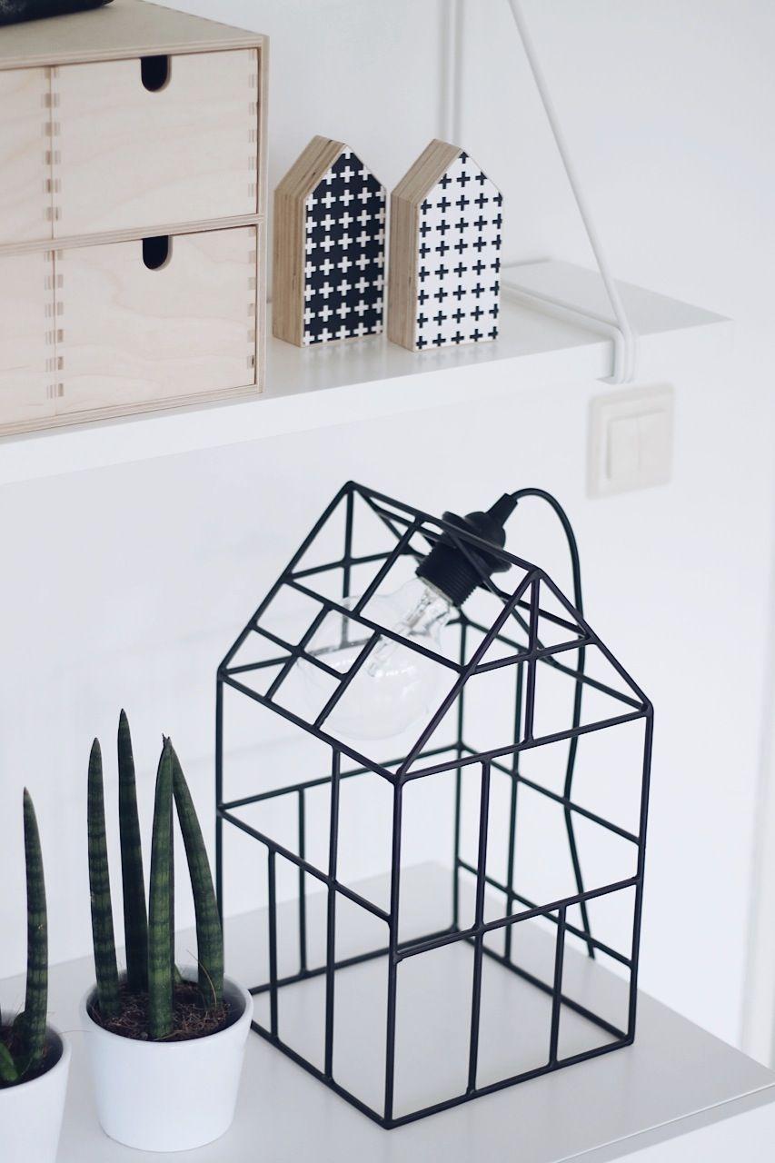 deko stand - lampe unten - kästchen größer (papier darüber) | DIY ...