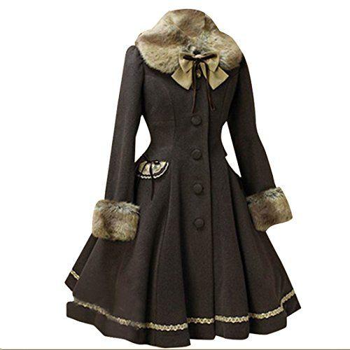 Partiss Womens Winter Faux Fur Sweet Classic Lolita Overc... https://www.amazon.com/dp/B01MQ2KCV3/ref=cm_sw_r_pi_dp_x_K9ivybSRH4KRN